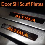 [GREENTECH] Nissan Altima - LED Door Sill Scuff Plates Set