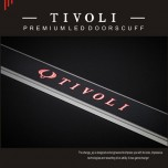 [CHANGE UP] SsangYong Tivoli​ - LED Door Sill Scuff Plates Set