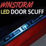 [ARTX] GM-Daewoo Winstorm - Luxury Generation LED Door Sill Scuff Plates Set
