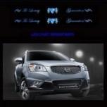 [ARTX] SsangYong Korando C - Luxury Generation Chrome LED Door Sill Scuff Plates Set