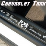 [ARTX] Chevrolet Trax - Luxury Generation Door Sill Scuff Plates