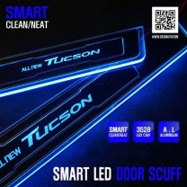 [DXSOAUTO] Hyundai All New Tucson - Smart LED Door Sill Scuff Plates Set
