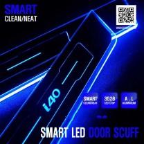 [DXSOAUTO] Hyundai i40 - Smart LED Door Sill Scuff Plates Set