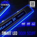 [DXSOAUTO] Hyundai New Tucson ix - Smart LED Door Sill Scuff Plates Set