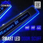 [DXSOAUTO] Hyundai Tucson ix - Smart LED Door Sill Scuff Plates Set