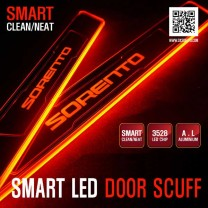 [DXSOAUTO] KIA All New Sorento UM - Smart LED Door Sill Scuff Plates Set