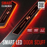 [DXSOAUTO] KIA K3 - Smart LED Door Sill Scuff Plates Set