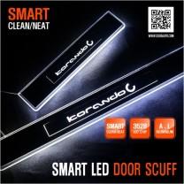 [DXSOAUTO] SsangYong Korando C - Smart LED Door Sill Scuff Plates Set
