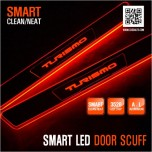 [DXSOAUTO] SsangYong Korando Turismo - Smart LED Door Sill Scuff Plates Set