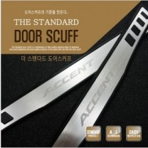 [DXSOAUTO] Hyundai New Accent​​ - The Standard AL Door Sill Scuff Plates Set