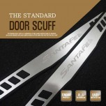 [DXSOAUTO] Hyundai Santa Fe DM - The Standard AL Door Sill Scuff Plates Set