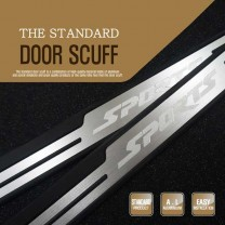 [DXSOAUTO] SsangYong Actyon Sports​ - The Standard AL Door Sill Scuff Plates Set