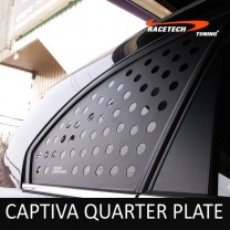 [RACETECH] Chevrolet Captiva - 3D Quarter Glass Plate Set