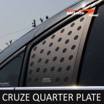 [RACETECH] Chevrolet Cruze - 3D Quarter Glass Plate Set