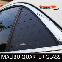[RACETECH] Chevrolet Malibu - 3D Quarter Glass Plate Set
