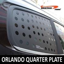 [RACETECH] Chevrolet Orlando - 3D Quarter Glass Plate Set