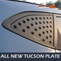 [RACETECH] Hyundai All New Tucson​ - 3D Quarter Glass Plate Set