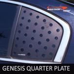[RACETECH] Hyundai Genesis - 3D Quarter Glass Plate Set