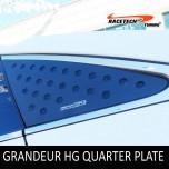 [RACETECH] Hyundai Grandeur HG - 3D Quarter Glass Plate Set