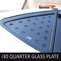 [RACETECH] Hyundai i30 - 3D Quarter Glass Plate Set