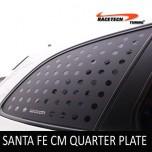 [RACETECH] Hyundai Santa Fe CM - 3D Quarter Glass Plate Set