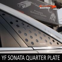 [RACETECH] Hyundai YF Sonata - 3D Quarter Glass Plate Set
