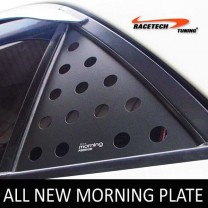 [RACETECH] KIA All New Morning - 3D Quarter Glass Plate Set