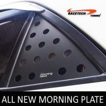 [RACETECH] KIA All New Morning - 3D Quarter Glass Plate Set