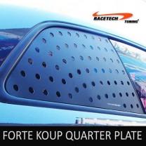 [RACETECH] KIA Forte Koup - 3D Quarter Glass Plate Set