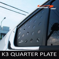 [RACETECH] KIA K3 - 3D Quarter Glass Plate Set
