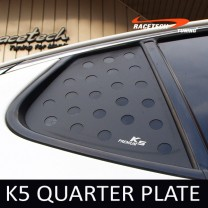 [RACETECH] KIA K5 - 3D Quarter Glass Plate Set