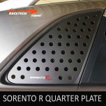 [RACETECH] KIA Sorento R - 3D Quarter Glass Plate Set