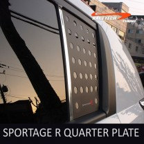 [RACETECH] KIA Sportage R - 3D Quarter Glass Plate Set