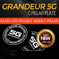[SENSE LIGHT] Hyundai 5G Grandeur HG - LED C-Pillar Plate Set