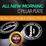 [SENSE LIGHT] KIA All New Morning - LED C-Pillar Plate Set