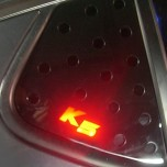 [COX] KIA K5 - LED Glass C Pillar Plate Set