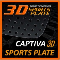 [DXSOAUTO] Chevrolet Captiva - 3D Sports Plate Circle Type Set