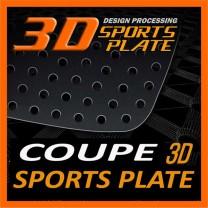 [DXSOAUTO] Hyundai Genesis Coupe - 3D Sports Plate Circle Type Set