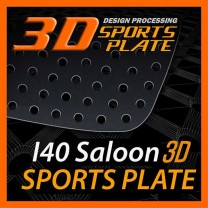 [DXSOAUTO] Hyundai i40 Saloon - 3D Sports Plate Circle Type Set