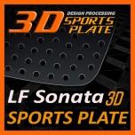 [DXSOAUTO] Hyundai LF Sonata - 3D Sports Plate Circle Type Set