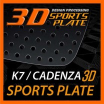 [DXSOAUTO] KIA K7 - 3D Sports Plate Circle Type Set