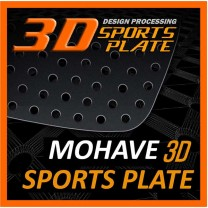 [DXSOAUTO] KIA Mohave - 3D Sports Plate Circle Type Set