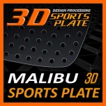 [DXSOAUTO] Chevrolet Malibu - 3D Sports Plate Circle Type Set