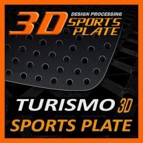 [DXSOAUTO] SsangYong Korando Turismo - 3D Sports Plate Circle Type Set