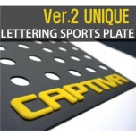 [DXSOAUTO] Chevrolet Captiva - Lettering Sports Plate Ver.2 (C Pillar)