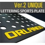[DXSOAUTO] Chevrolet Orlando - Lettering Sports Plate Ver.2 (C Pillar)