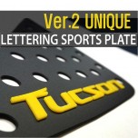 [DXSOAUTO] Hyundai All New Tucson - Lettering Sports Plate Ver.2 (C Pillar)