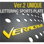 [DXSOAUTO] Hyundai Veracruz - Lettering Sports Plate Ver.2 (C Pillar)