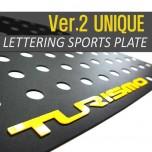 [DXSOAUTO] SsangYong Korando Turismo - Lettering Sports Plate Set Ver.2 (C Pillar)