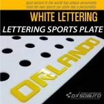 [DXSOAUTO] Chevrolet Orlando - Lettering Sports Plate Ver.3 WHITE